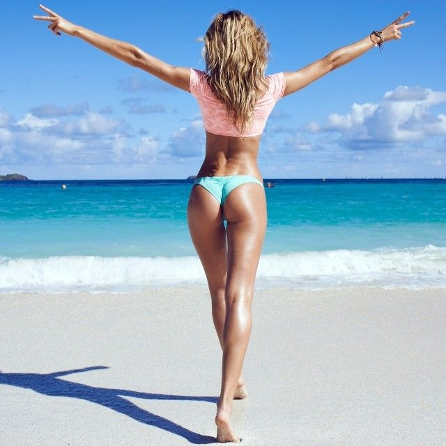 Love the New cheeky bottoms by @Victoria's Secret #finally #peace #stbarths photo by @picturepamu #Padgram