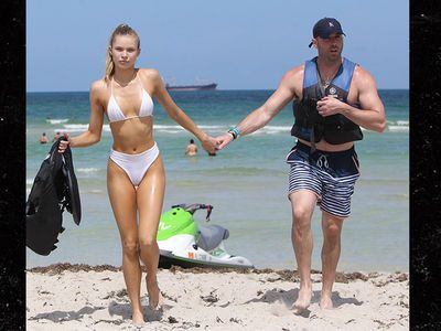 Josie Canseco's Scorching Miami Bikini Sesh w/ Mike Stud
