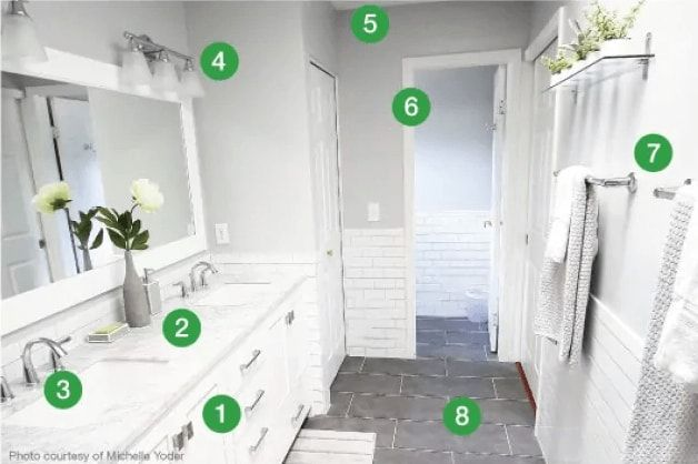 How Much Does A Bathroom Remodel Cost Angie S List Bathrooms