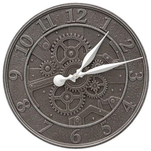 "Found it at Wayfair - Gear 16"" Indoor/Outdoor Wall Clock"