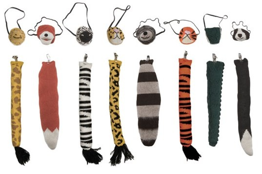 Oeuf Mask & Tail Sets