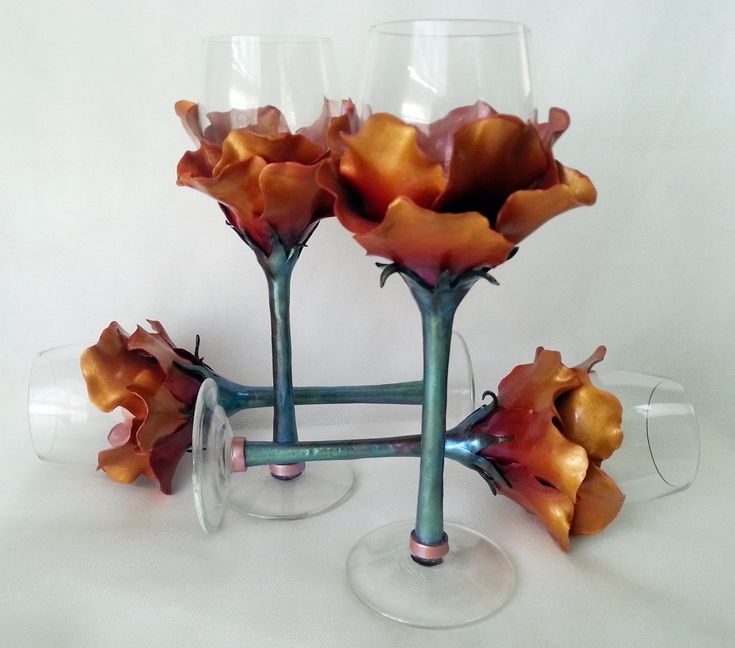 25 Best Ideas About Decorated Wine Glasses On Pinterest