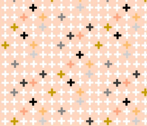 crosses fabric by e-lkh on Spoonflower - custom fabric