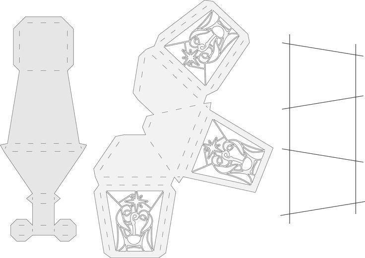 Схемы для открыток туннелей, открытка