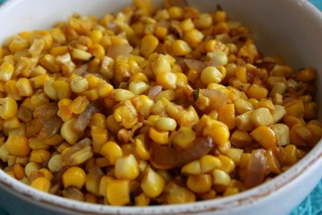 pan roasted cornChicken Salad, Side Dishes, Corn Yum, Pan Roasted Corn, Food, Favorite Recipe, Yummy Side, Roasted Corn I, Blessed Life