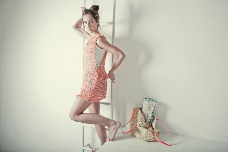 """Ginger Dress"" knitting kit from We Are Knitters by DaWanda.com"
