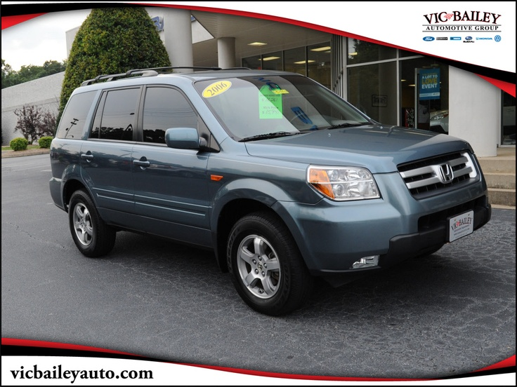 Had a used 2006 just like this, SAVED our LIVES in an accident!  We bought a newer pilot after that! Used 2006 Honda Pilot EX
