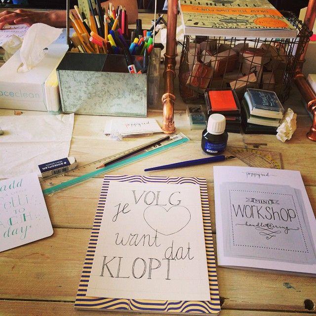 """@jyttte's photo: """"Dat was een fijne workshop! Dankjewel @happymakersblog"""""""