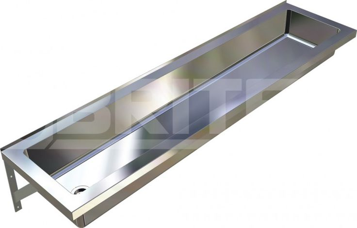 Commercial Stainless Steel Trough Bathroom Sink | Practical Trough, Troughs