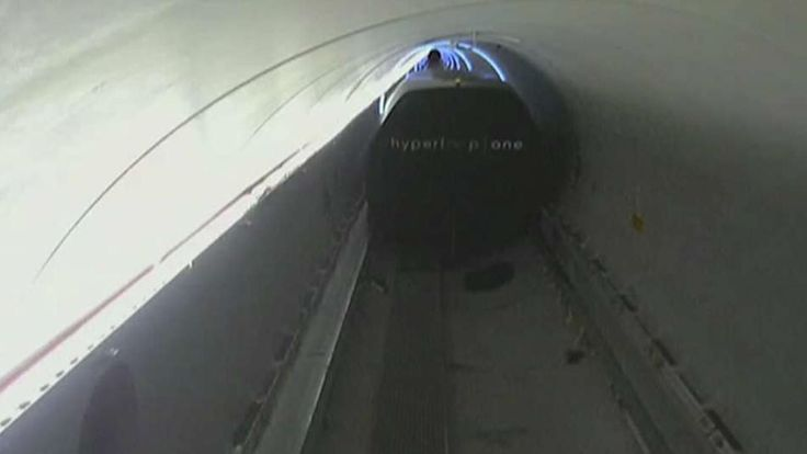 Hyperloop One pod reaches almost 200 mph in new test