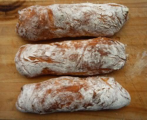 Pane Veloce - Quick Crusty Bread