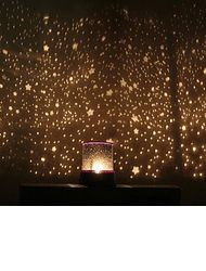 Fresh Starry Night Sky Projector Colorful LED Night Light Random Color Powered by AA Battery Sternenhimmel