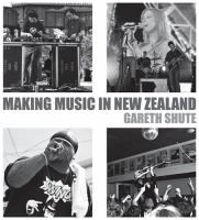 Cover image for Making music in New Zealand