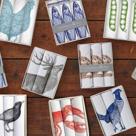 Bedruckte Taschentücher aus Baumwolle. Made in England. #geschenkefürmänner #madeinengland #englisch