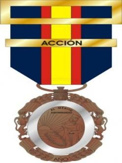 Medalla del Ejército, Naval y Aérea.españa