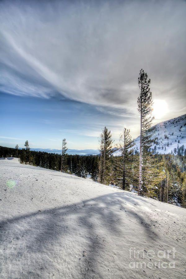Mt Rose Highway North Lake Tahoe Snow Photograph by Dustin K Ryan