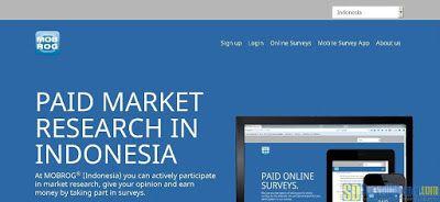 Situs paid survey Mobrog | SurveiDibayar.com