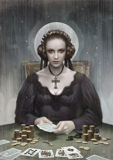Tom Bagshaw - Mans Ruin. Done for the guilty pleasures and modern vices, 2011