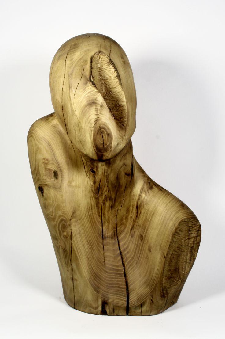wood , sculpture made by Karolina Gajda