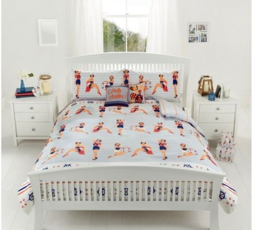 So cute - Pin Up bedspread...