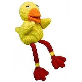 Kylling, fra Bamse og kylling, hæklet dukke