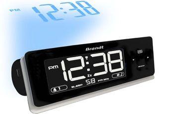 Radio-réveil Brandt BCR86P