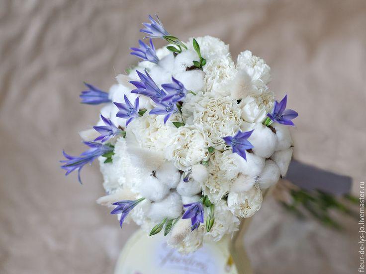 Купить Поздравительный букет - белый, букет, букет цветов, живые цветы, цветы в подарок