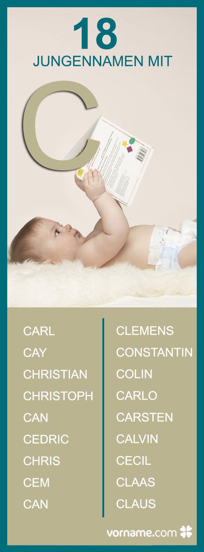 Bei uns findest Du tolle Vornamen, die mit einem C beginnen. Schau durch unsere Liste und finde den passenden Namen für Dein Baby!