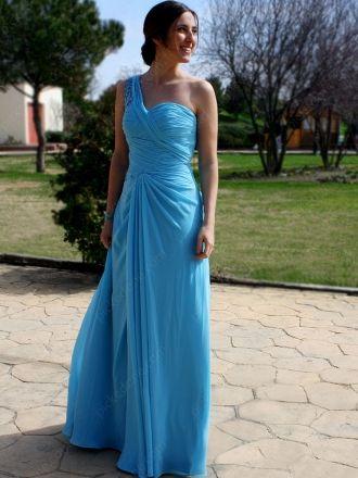 #blue Prom Dresses