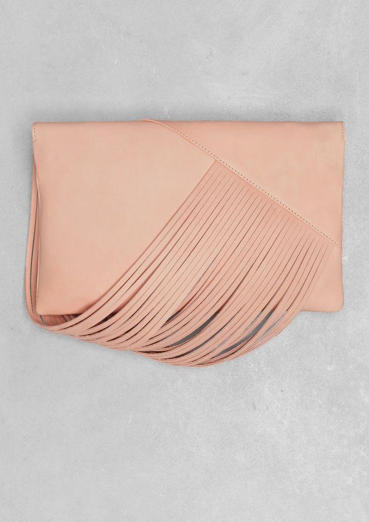 Draped leather shoulder bag   Draped leather shoulder bag   & Other Stories