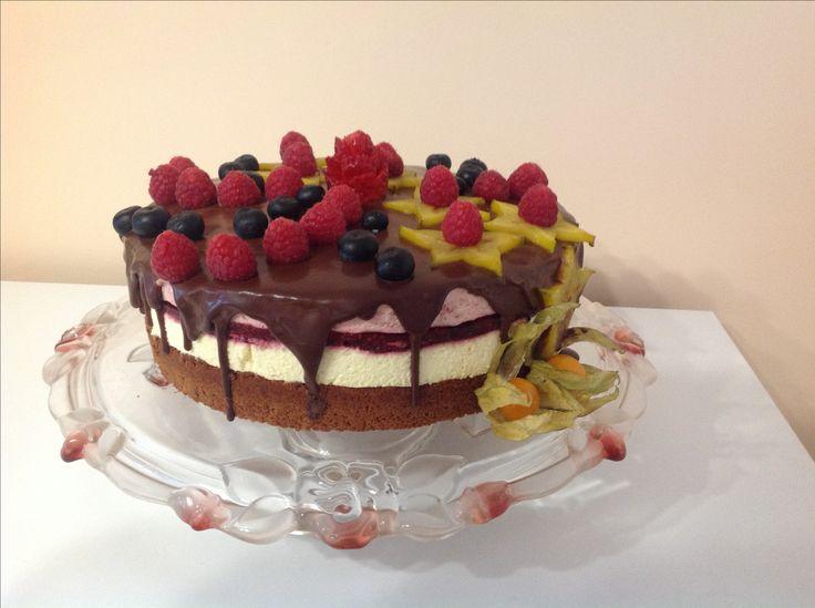 Gyümölcsös mousse torta