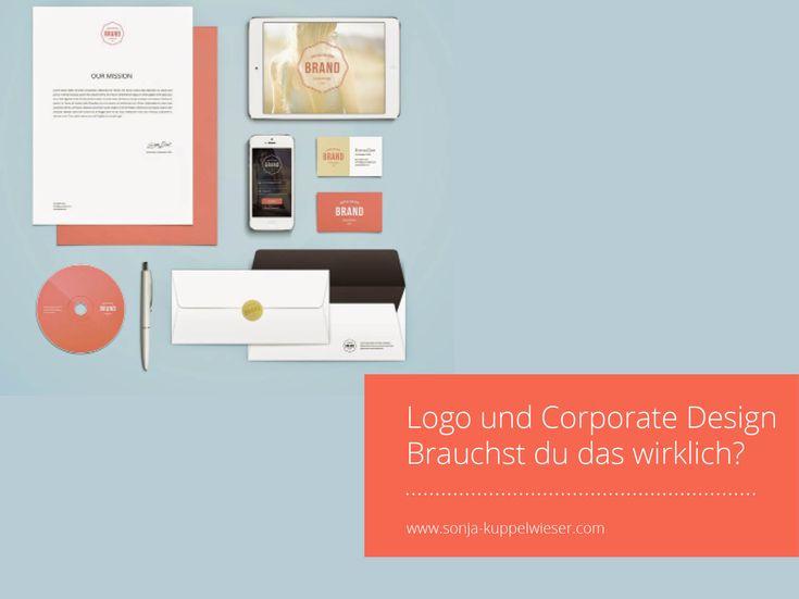 Logo und Corporate Design – Brauchst du das wirklich?
