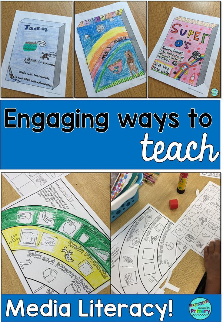 Teach media literacy with your health unit and engage your students in designing their own cereal box while learning about the food groups and healthy eating.