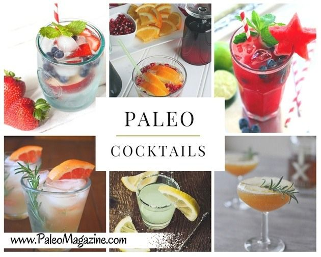Here's a list of all the best Paleo cocktail recipes! This comprehensive list includes both cocktail and mocktail recipes from some of our favorite Paleo-friendly food bloggers.