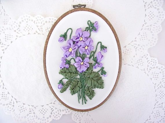 Best my ribbon embroidery art images on pinterest