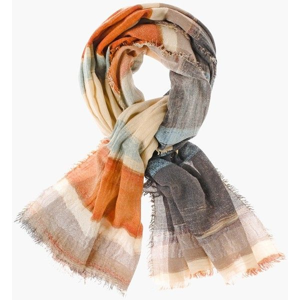 Chico's Autumn Oblong Scarf ($49) ❤ liked on Polyvore featuring accessories, scarves, multi, long scarves, summer scarves, oblong scarves, striped scarves and summer shawl