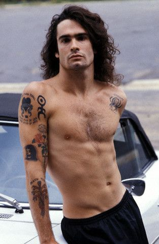 Henry Rollins, young and OMG.