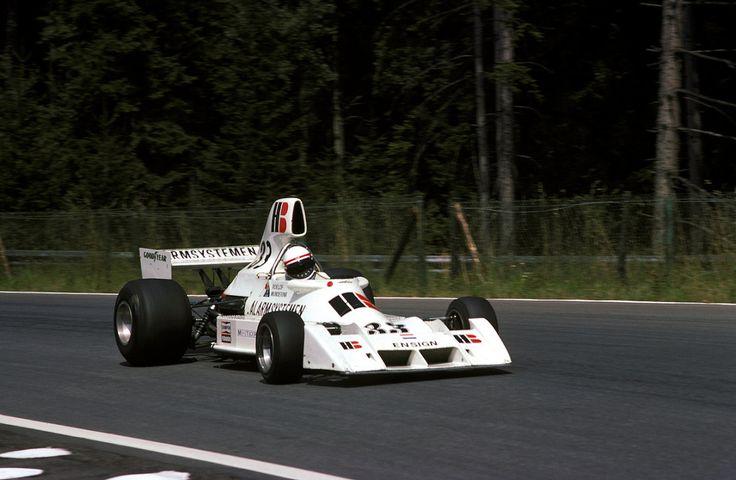 "f1-motor-und-sport: ""Roelof Wunderink, Ensign-Ford N174, 1975 Austrian GP, Österreichring """