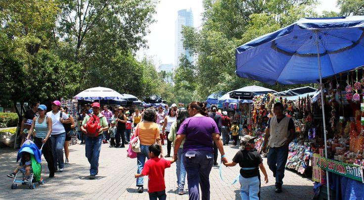 Roteiro pelo Bosque de Chapultepec - Feira livre
