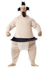 Sumo Ringer Mega Kostüm, aus unserer Kategorie Ausgefallene Kostüme. In diesem Kostüm sind Sie einfach unübersehbar. Das Mega-Kostüm verwandelt Sie in einen massiven Sumo-Ringer und ist nicht nur für Freunde des asiatischen Ringkampfes eine echte Empfehlung. Der Sumo-Anzug ist besonders für #Faschingszüge zu empfehlen, da er warm und kuschlig ist. Wer weiß, vielleicht überzeugt das ja auch die Damenwelt?