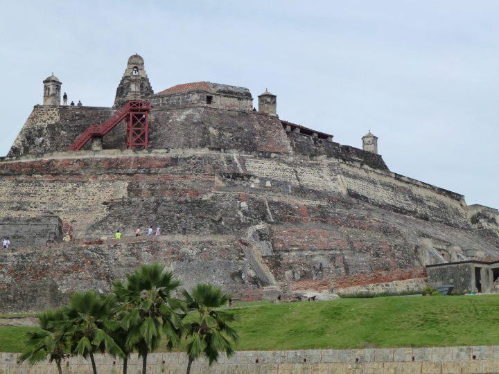 castillo SAN FELIPE COLOMBIA