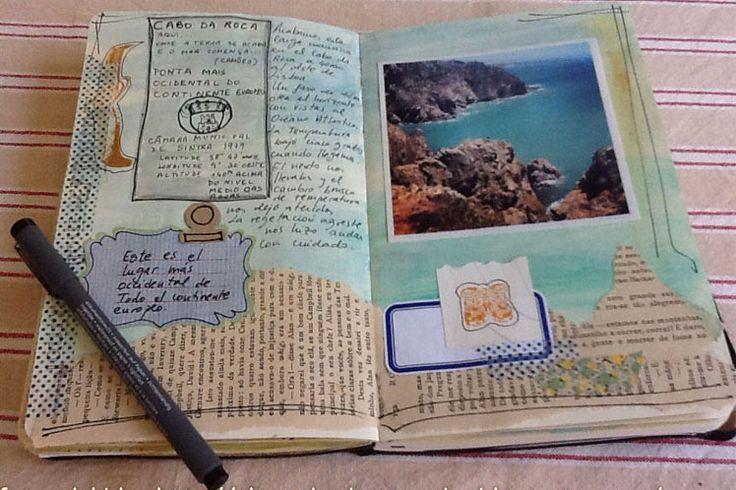ideas para cuaderno de viaje