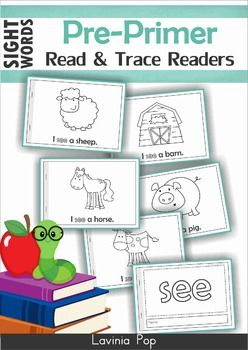booklets Sight Readers,  Readers, printable Words word Word Emergent Reading Kindergarten sight