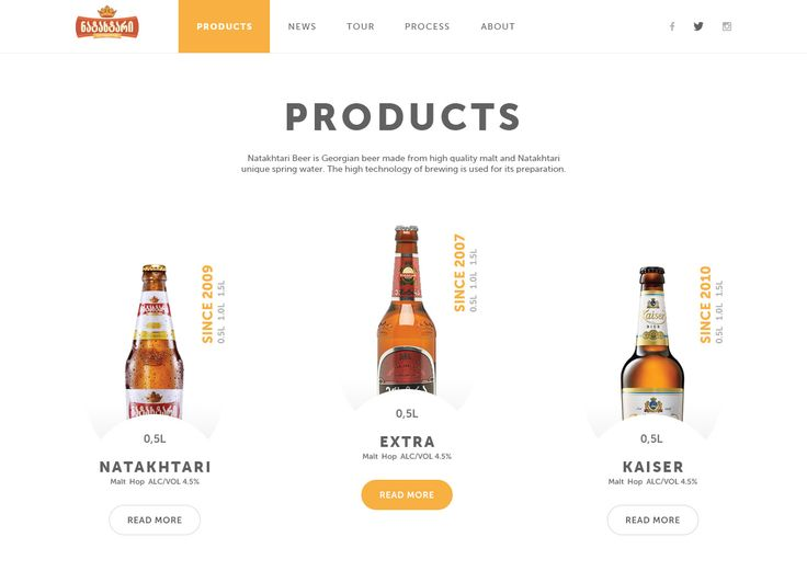 Beer product page attachment
