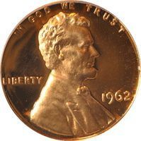 """1962 D Lincoln Penny Type: Lincoln Mint Mark: D Face Value: 0.01 USD Total Produced: 1,793,148,000 [?] Silver Content: 0% Numismatic Value: 20 cents to $.35 Value: As a rough estimate of this coins value you can assume this coin in poor condition will be valued at somewhere around 20 cents, while one in """"perfect"""" condition can bring $.35."""