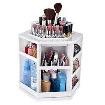 Makeup organizer... Yes: Ideas, Spin Cosmetics, Make Up, Beautiful, Tabletop Spin, Organizers, Makeup Organizations, Products, Cosmetics Organizations