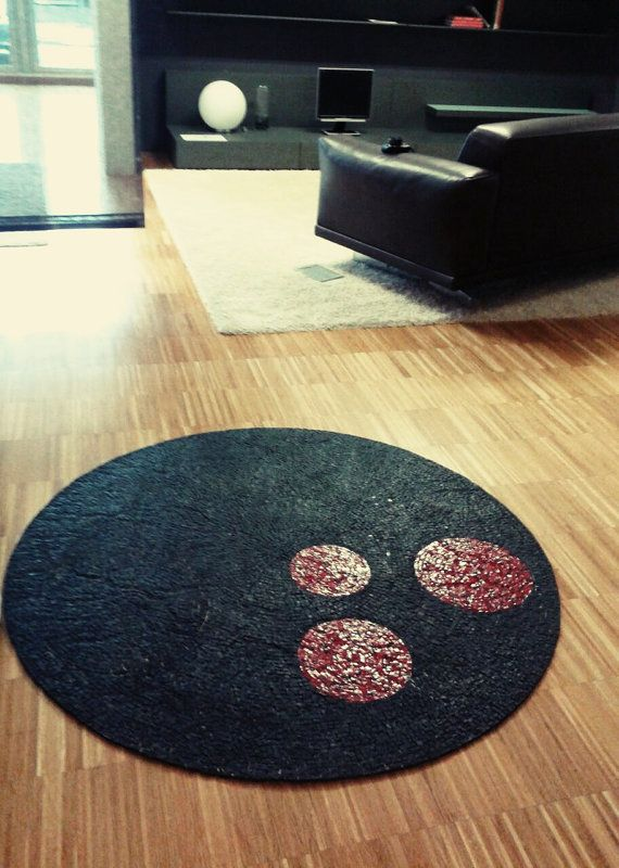 flexible mosaic rug carpet / Stone mosaic by LaTenagliaImpazzita