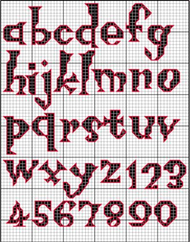 Knitting Cursive Letters : Best images about knitted alphabets on pinterest