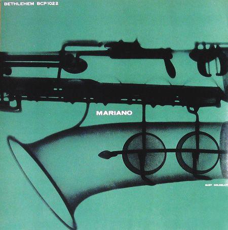 "10"" LP 1954, Design: Burt Goldblatt"