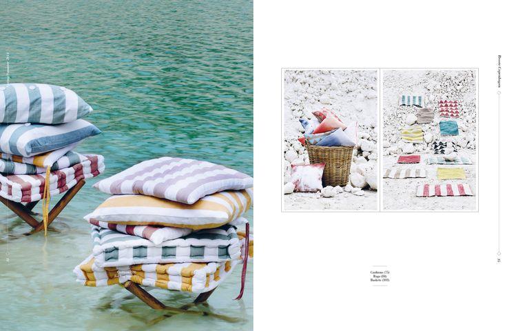Art direction: Rasmus Brøndsted Photographer: Line Thit Klein Stylist: Nathalie Schwer #guildandwells #brostecopenhagen  #SS14 #cushions